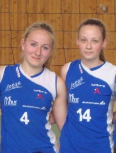 Tereza Štefániková (vľavo) a Lenka Tokárová